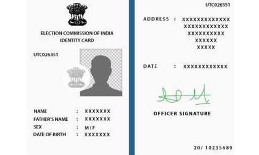 How to change your address on Voter ID Card Online