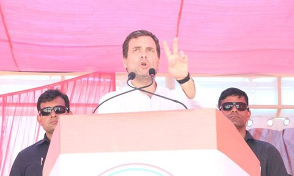 Congress will launch a surgical strike on poverty: Rahul Gandhi