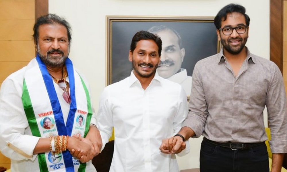 Actor Mohan Babu challenges CM Chandrababu Naidu, joins YSRCP
