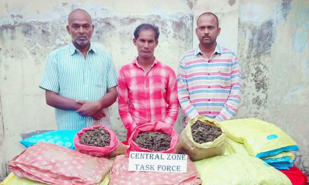 3 held with 40 kg ganja at Narayanguda