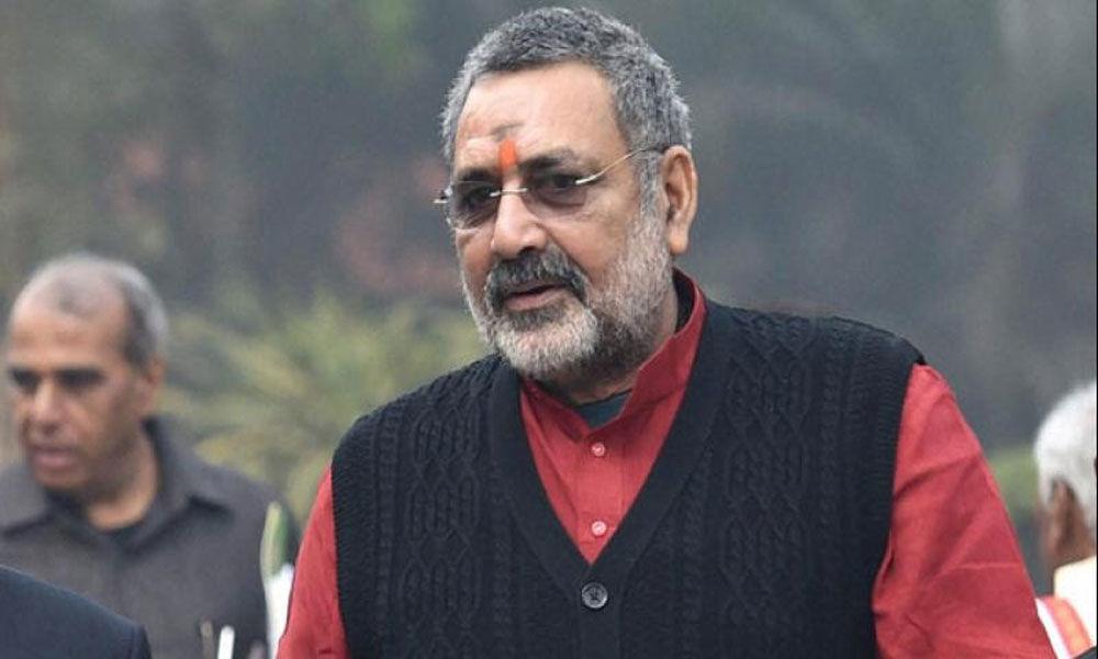 Giriraj Singh to contest from Begusarai: Amit Shah