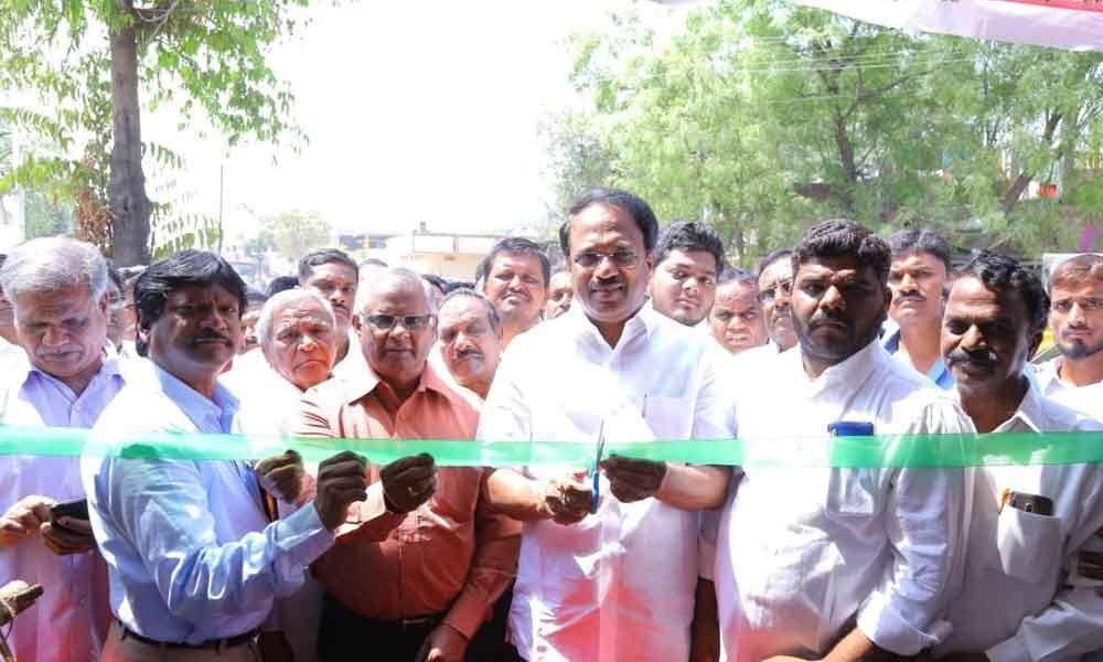 Chalivendram opened at MB Church in Mahbubnagar