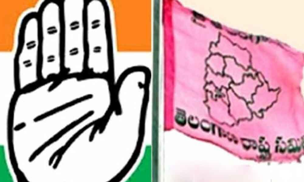 TRS, Congress step up campaign