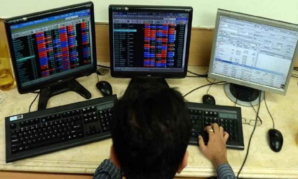 Sensex gains 100 points Nifty nears 11,500 ahead of F&O expiry