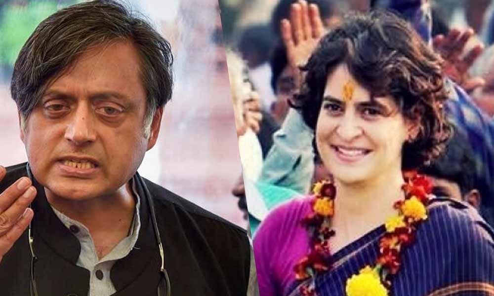 Priyanka calls Uttar Pradesh as her