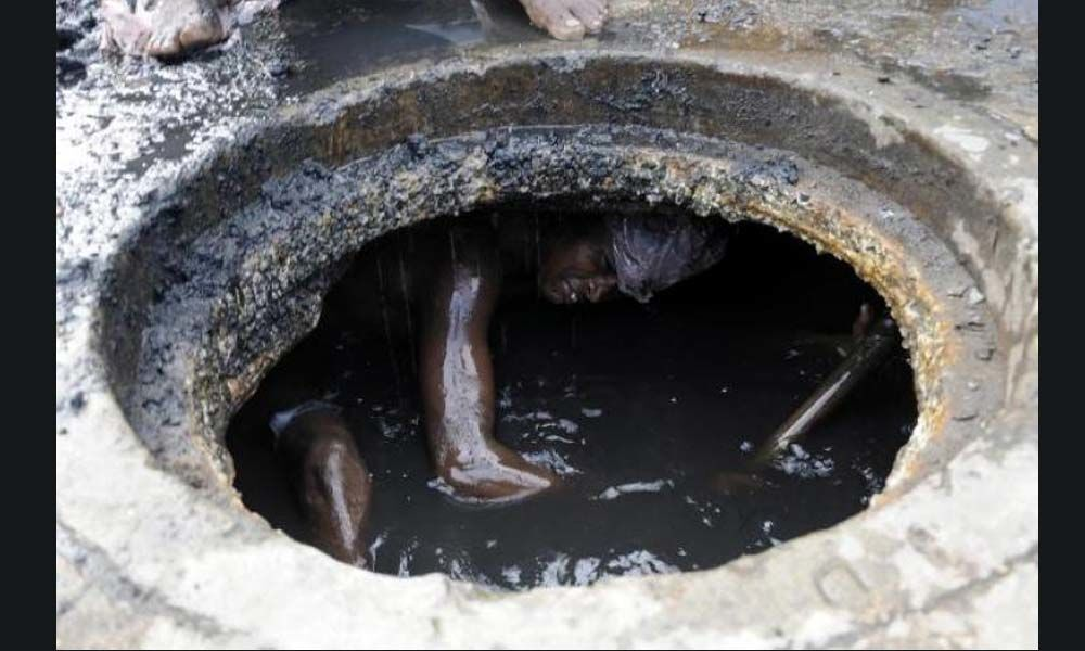 The tragedy of manual scavenging