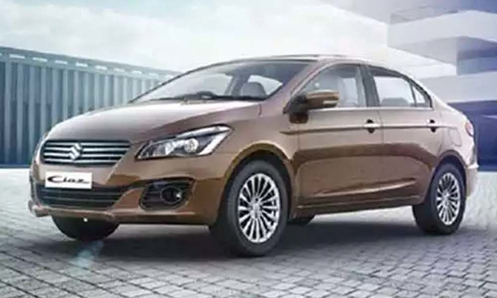 Maruti drives in Ciaz at 9.97 lakh