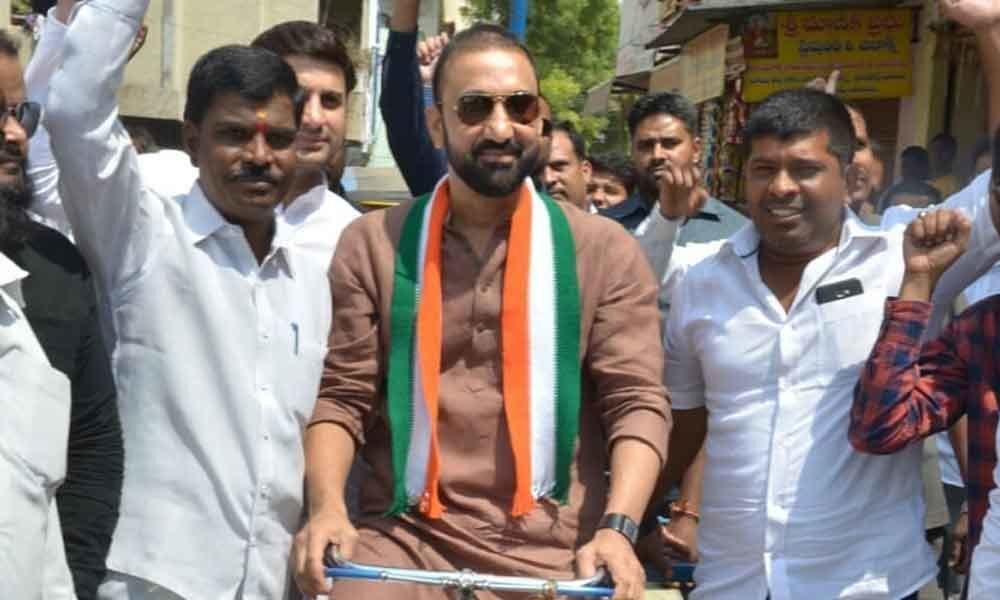 Miracles can happen, says Congress candidate
