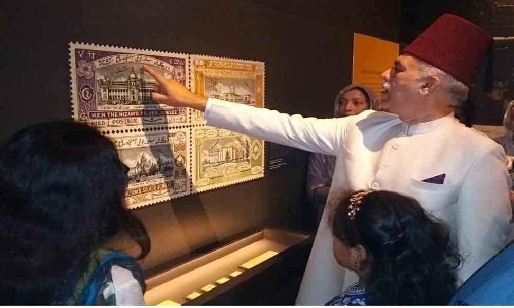 Stamps from Nizams era sans Asaf Jahis