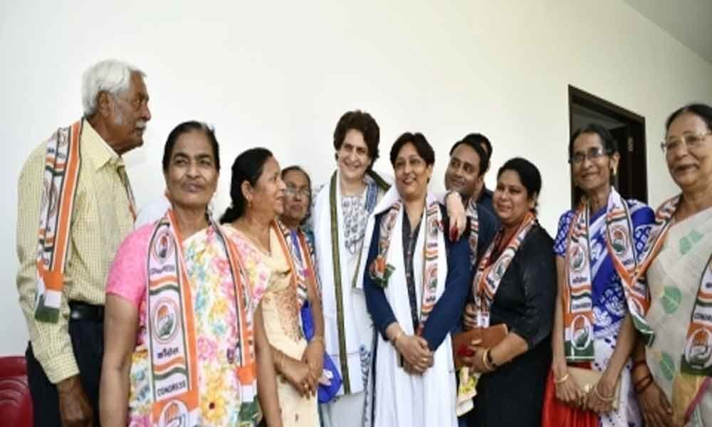 Priyanka to be in Ayodhya on the last leg of UP trip
