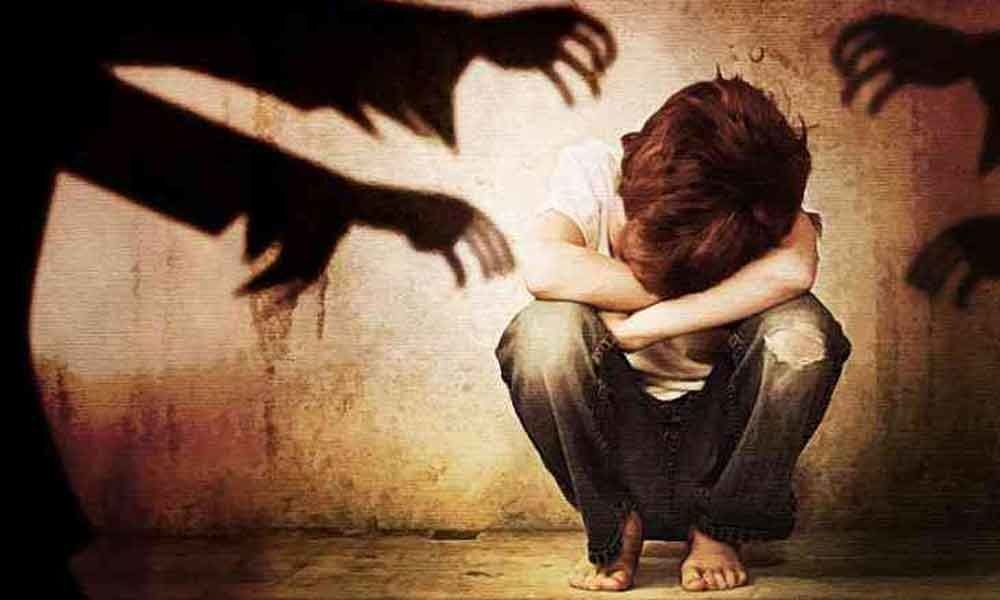 Man held for sexually abusing boy