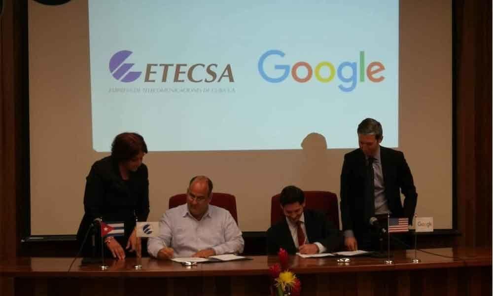 Google, Cuba agree to work toward improving islands connectivity