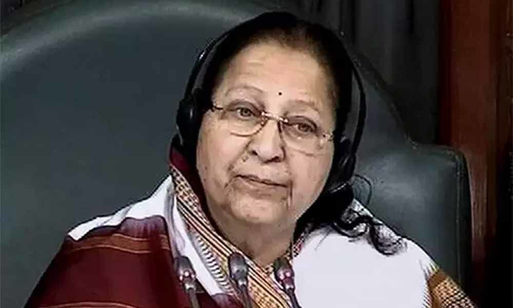 BJP still mum on candidate from Indore, Speaker Sumitra Mahajans seat