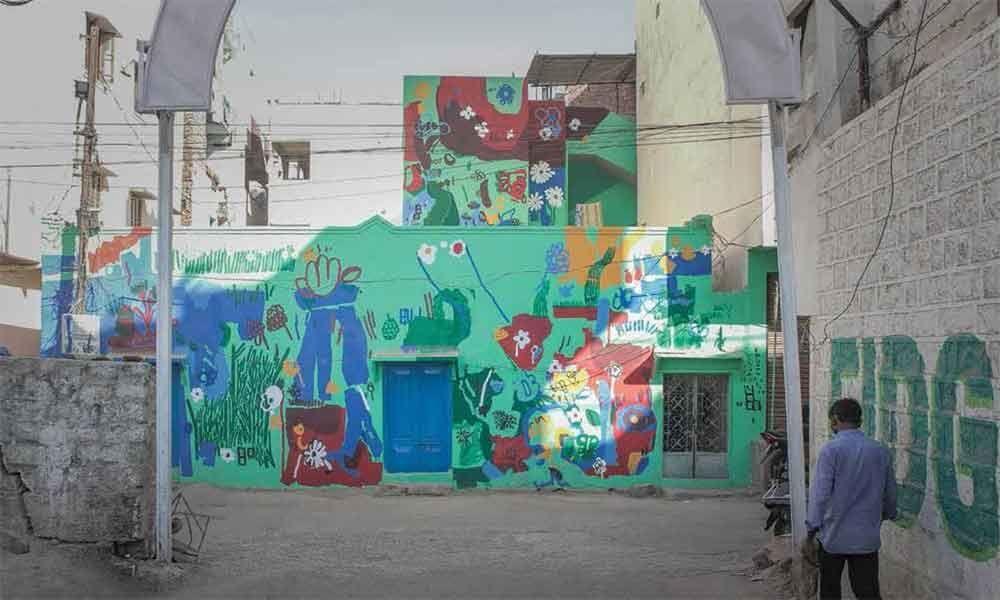 An urban art experience