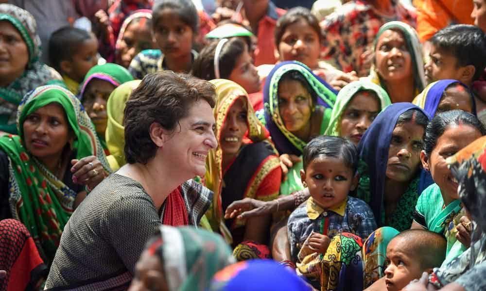 Modi meets & greets rich only: Priyanka
