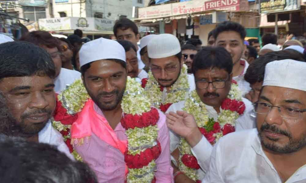 MIM leaders brisk campaign for TRS