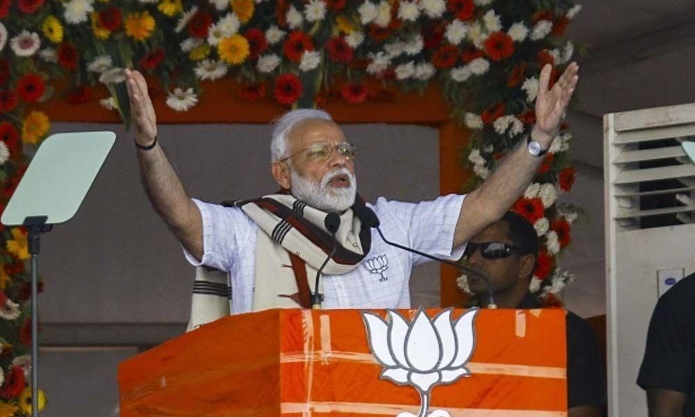 PM Modis Mission Shakti speech didnt violate model code of conduct: EC