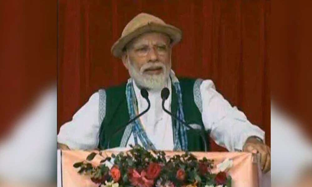 Opposition Disheartened With Indias Growth, Alleges PM Modi In Arunachal