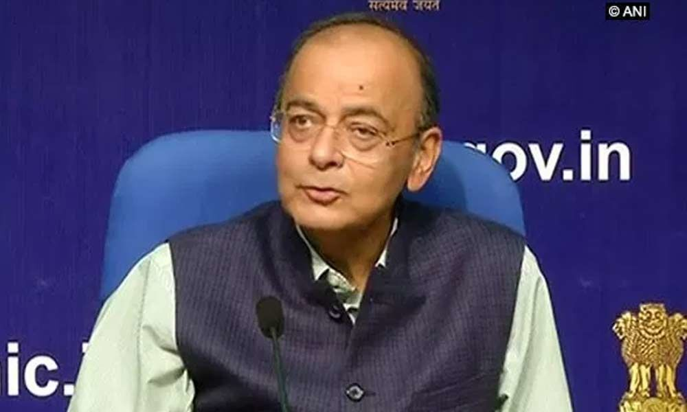 UPA made corruption cause by holding unprecedented protest: Jaitley on Karnataka raids