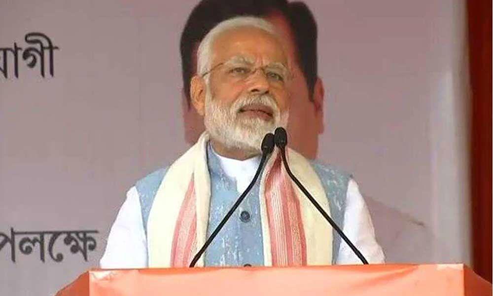 NDA govt committed to Assam Accord: Modi