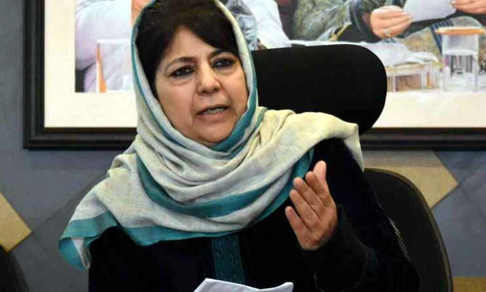 If Article 370 is withdrawn, J&Ks ties with India will be over: Mehbooba Mufti to Arun Jaitley