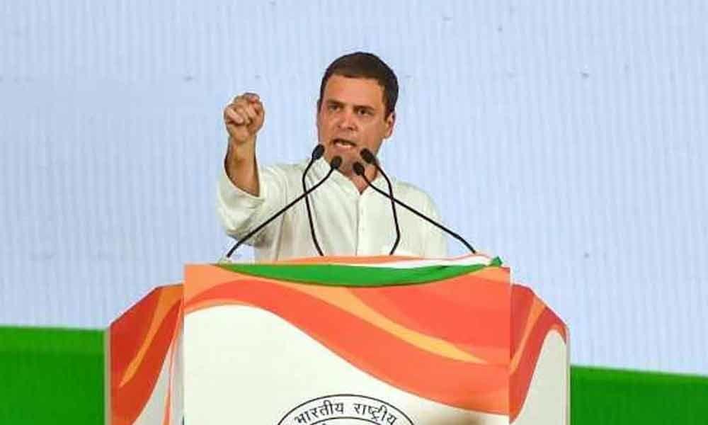 Lok Sabha elections 2019: Rahul Gandhi to address three rallies in Telangana tomorrow