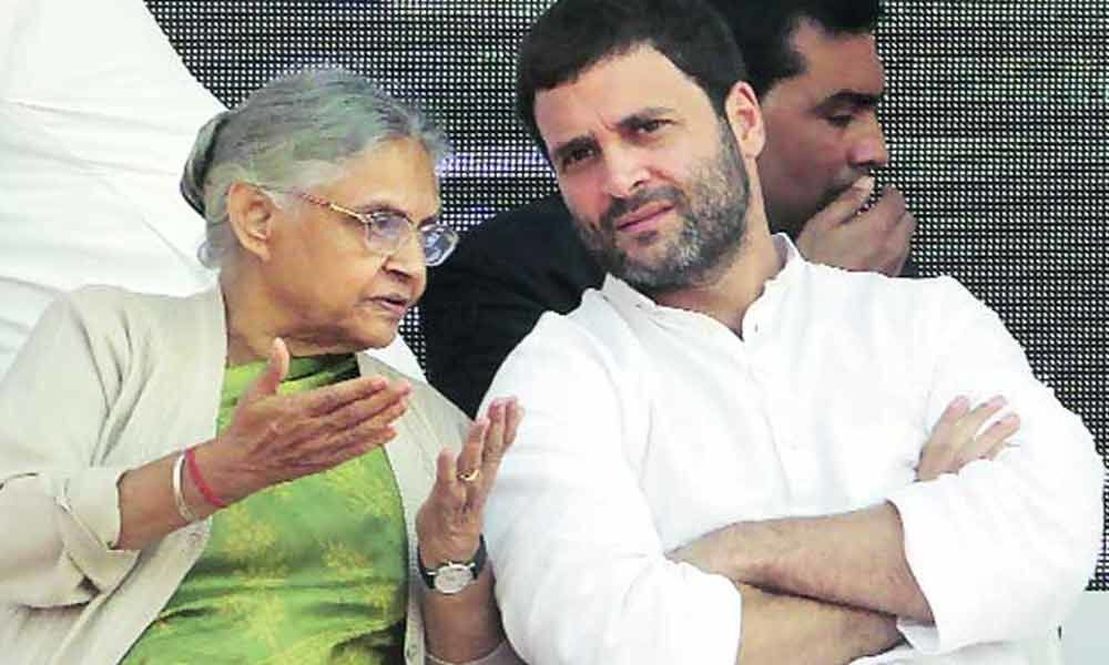 Cong meets to shortlist LS seats; Rahul likely to confirm on tie-up with AAP