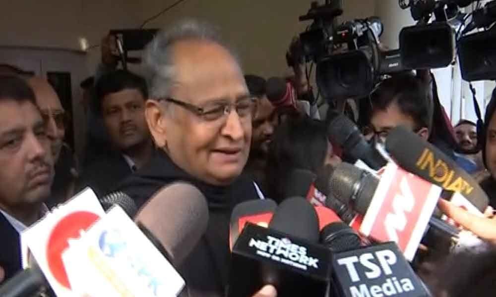 Ashok Gehlot attacks Narendra Modi over his address on ASAT missile test