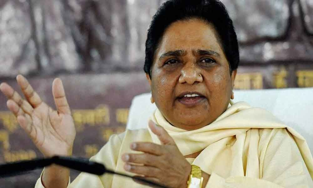 Mayawati accuses BJP of playing anti-Dalit politics