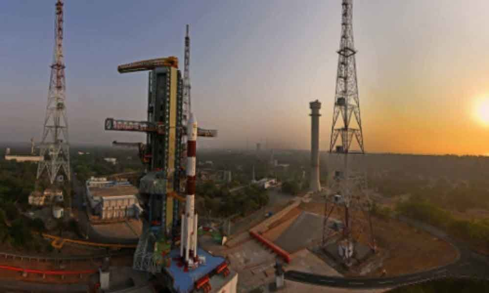 A countdown begins for PSLV-C45 mission with many a first for ISRO