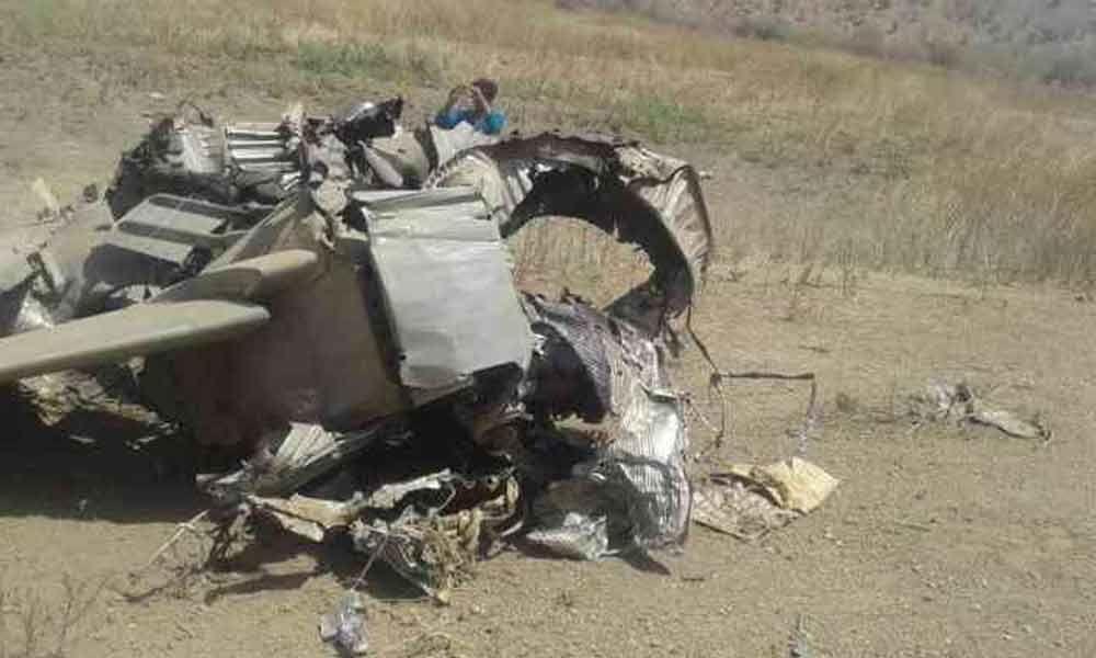 IAFs MiG 27 aircraft crashes near Jodhpur