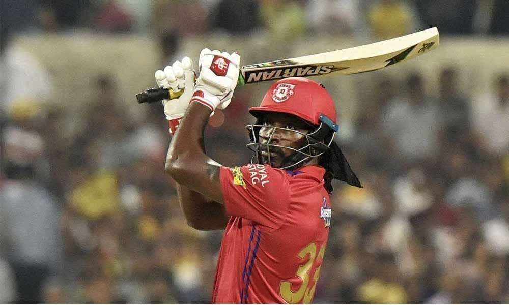 Gayle becomes first player in IPL to hit 300 plus sixes