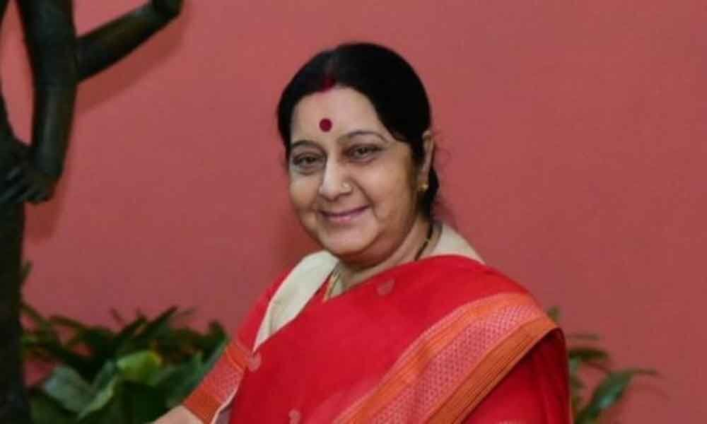 Its me, not my ghost: Sushma clarifies on tweets