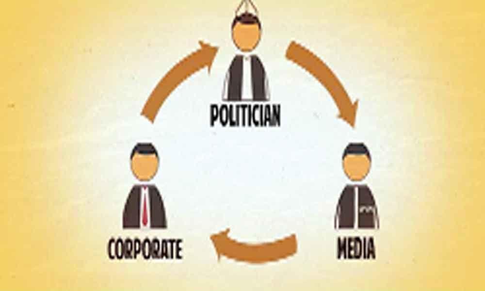 Cronyism and present-day politics