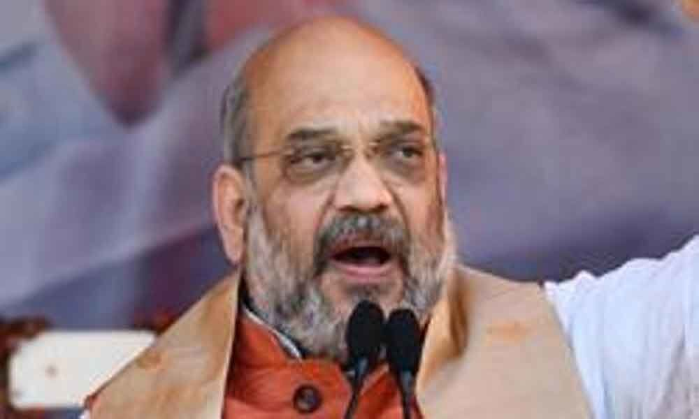Congress trying to defame Hindus by giving them terror tag: Amit Shah