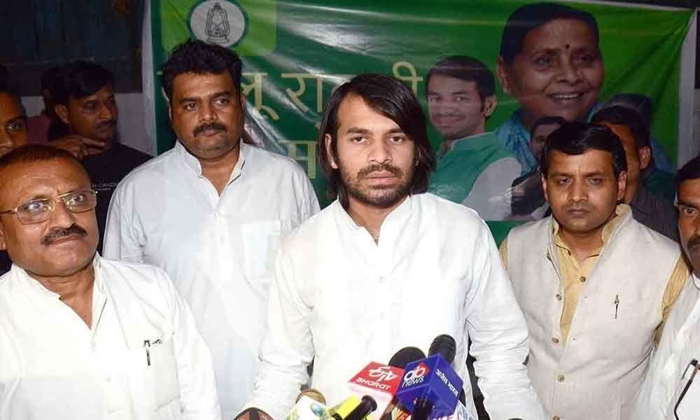 Tej Pratap names new party, may contest all Bihar seats
