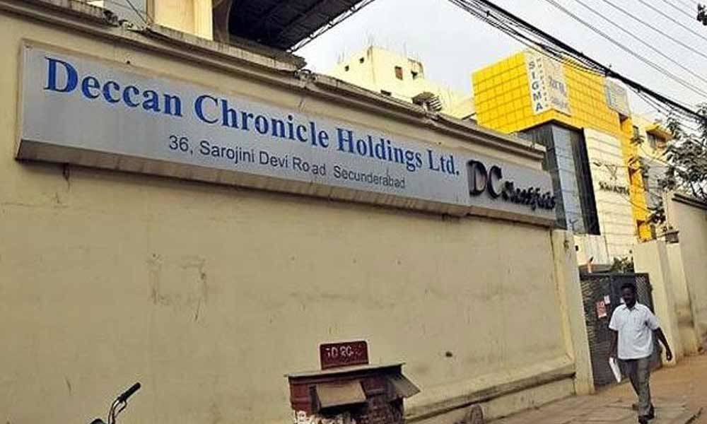 Orders in Deccan Chronicle case deferred to April 8
