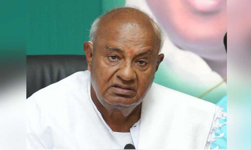 We need to work as one to defeat BJP and Modi: Gowda