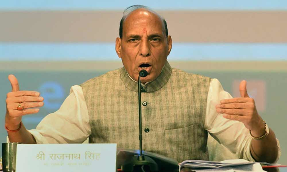 Rajnath Singh hits out at Congress, says only PM could have spoken about A-SAT launch