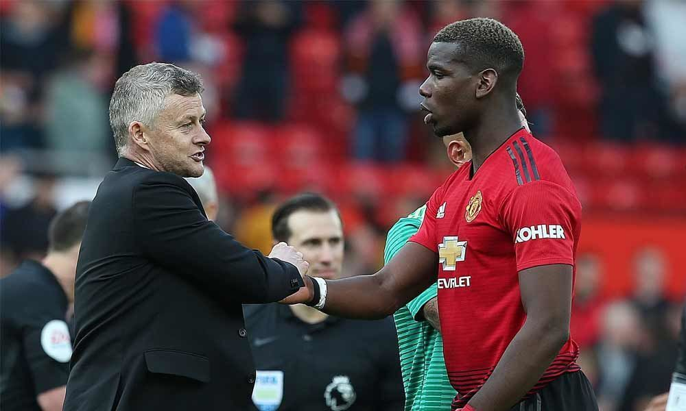 Pogba is happy here and hes going to do his utmost to stay at United: Solskjaer