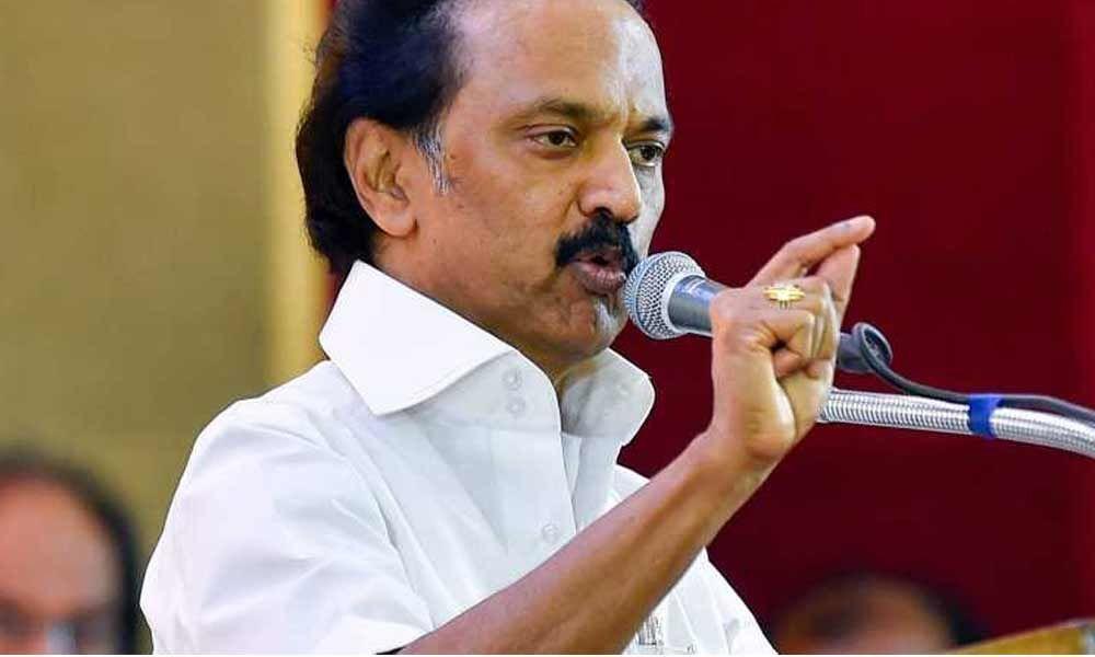Former MLA Babu Murugavel files a case against M K Stalin