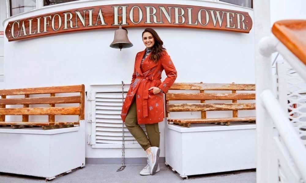 Huma Qureshi sets winter fashion goals on US trip