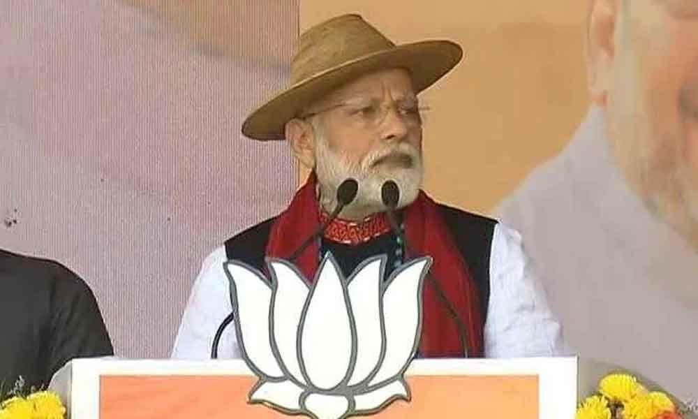 Congress never cared for Arunachal Pradesh: PM Modi