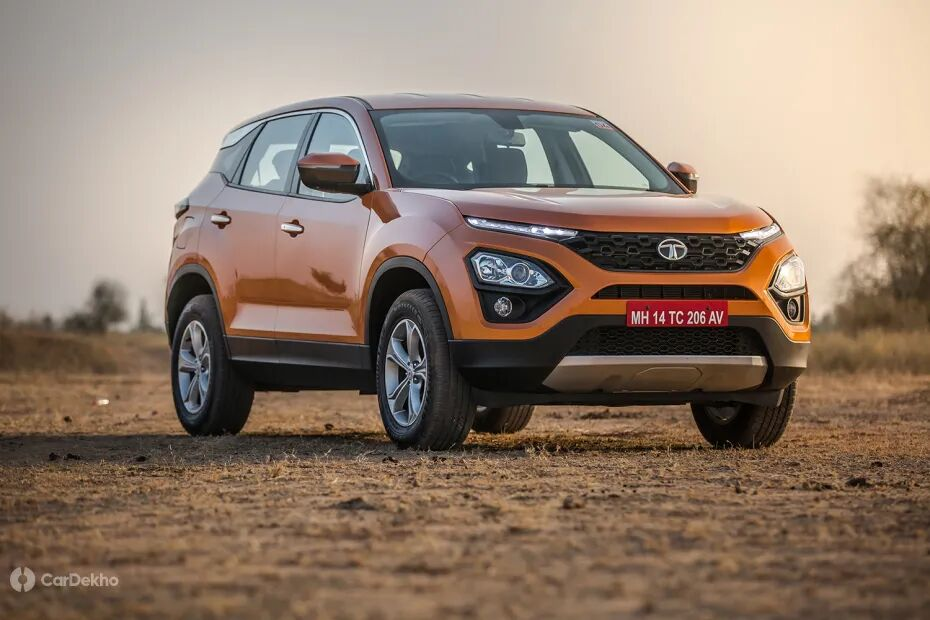 Tata Harrier and Buzzard 7-Seater SUV To Get 4x4 Variants