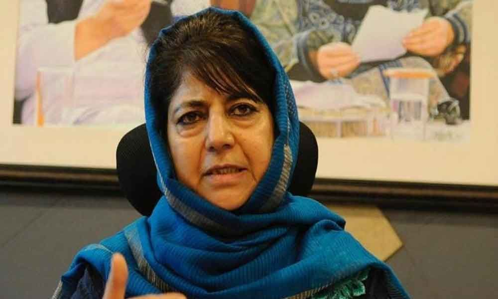Mehbooba Mufti takes swipe at Jaitleys separatist psyche comment
