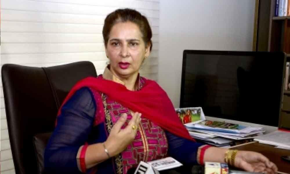 Navjot Kaur sore over denial of ticket from Chandigarh