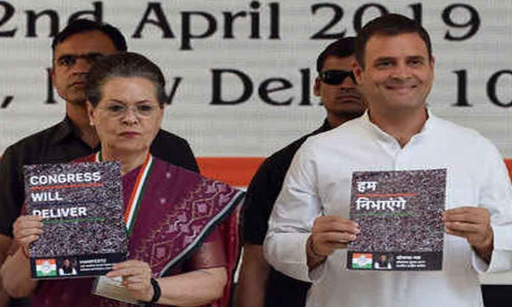 Hits and misses of Congress manifesto