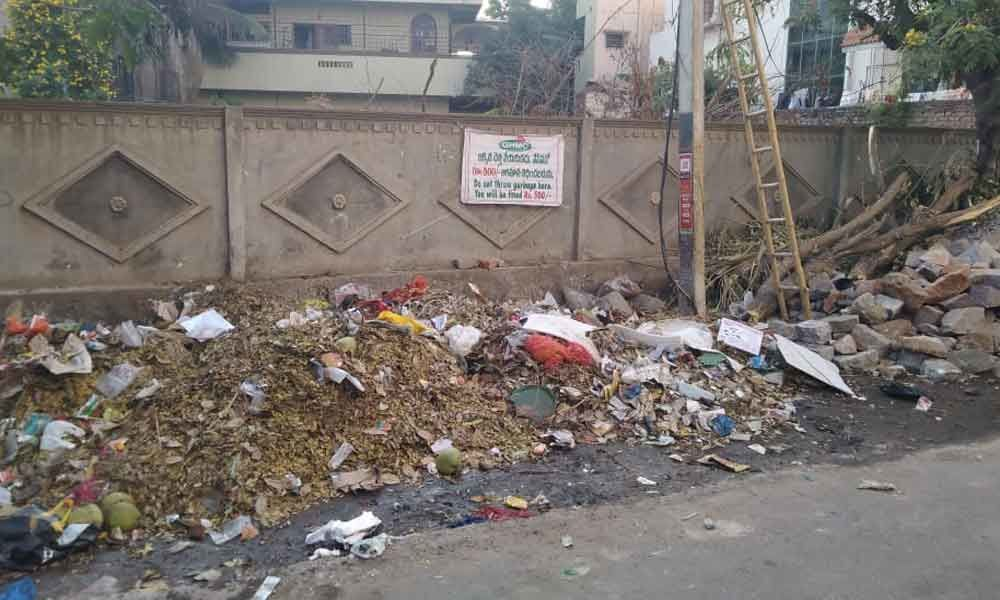 Garbage woes pile up in Old Bowenpally