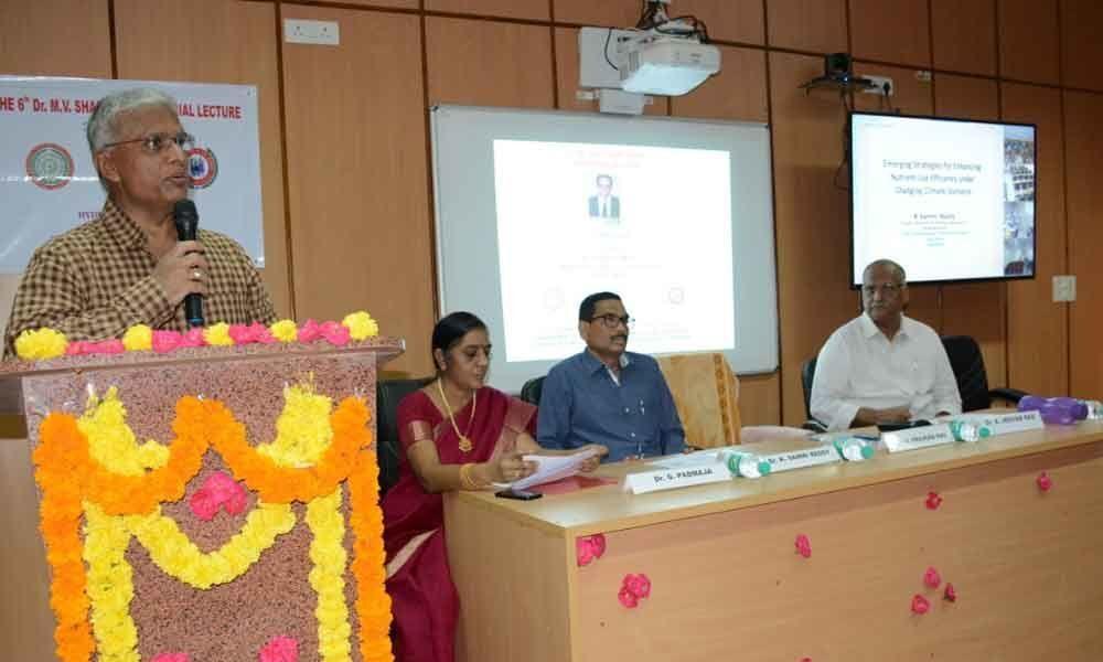 Shantaram Memorial Lecture delivered