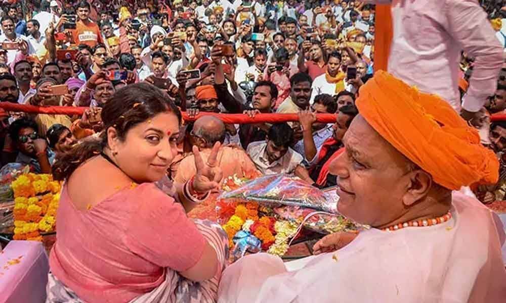 Rahuls decision to contest from Wayanad insult to Amethi, says Smriti Irani